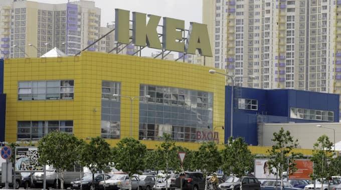 Ikeas varuhus i Moskva. Foto: Mikhail Metzel / AP