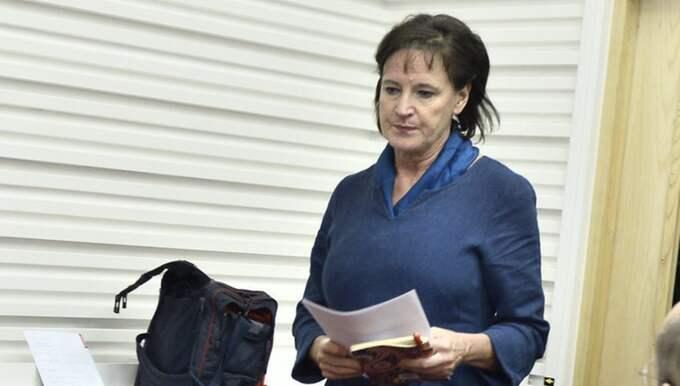 Kommunals hårt pressade ordförande Annelie Nordström. Foto: Claudio Bresciani/Tt