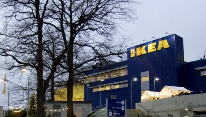 Flera kunder fick vända hemåt igen. Bilden är från ett annat Ikeavaruhus. Foto: Pontus Lundahl / Scanpix /
