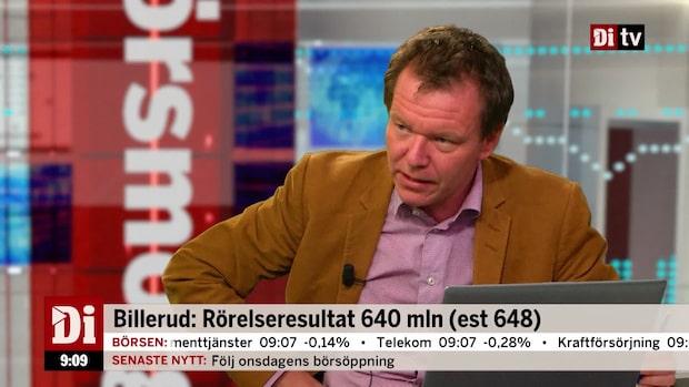 """Di:s analytiker om Billeruds rapport: """"Odramatisk"""""""