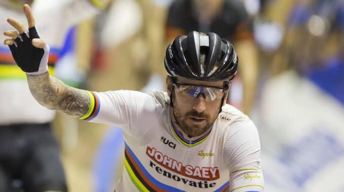 Wiggins har även vunnit Tour de France. Foto: Peter Dejong / AP TT NYHETSBYRÅN