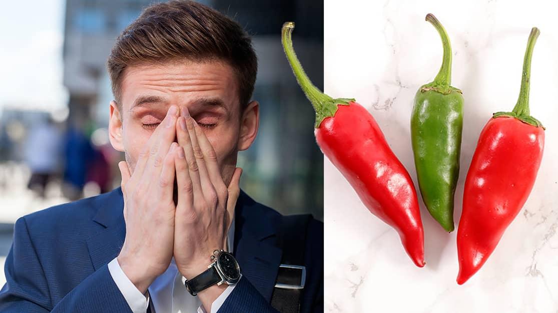 varför rinner näsan när man äter