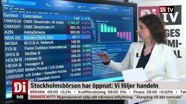 Marknadskoll: Börsen rör sig runt nollan - Fenix Outdoor lyfter