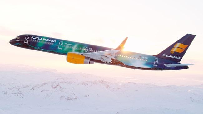 Lågprisbolaget Icelandair ligger ännu sämre till, med 44 procent försenade flygturer.