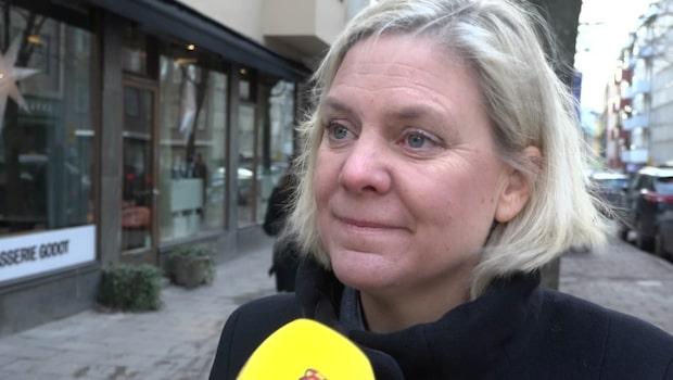 Magdalena Andersson om skatteplaneringen