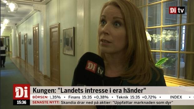 """Annie Lööf (C): """"Valet är lätt för Centerpartiet"""""""