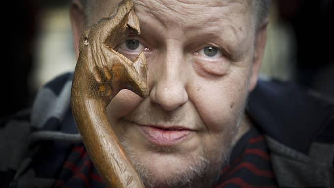På årsdagen efter artisten Freddie Wadlings bortgång hyllas han på Göteborgs stadsmuseum med en utställning. Foto: TOMMY PEDERSEN