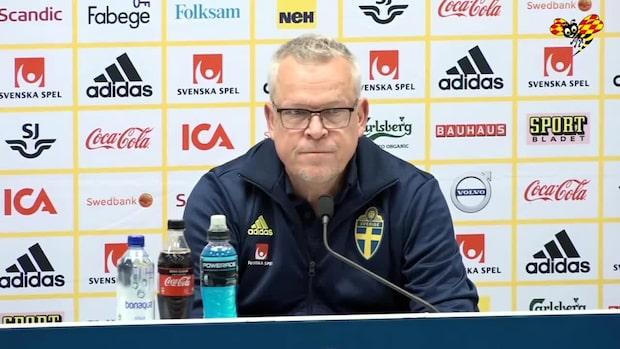 "Janne Andersson om anfallsduon: ""Skickliga"""