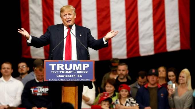 """""""Han hade otrolig talang, men han tappade självförtroendet. Han tappade kolossalt mycket självförtroendet på grund av, i ärlighetens namn, usel, usel, usel plastikkirurgi"""", sa Donald Trump om Michael Jackson. Foto: Paul Zoeller"""
