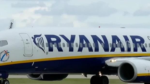 Lågprisbolaget Ryanair drar ned sin verksamhet på Skavsta flygplats