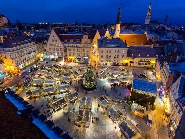Tallinn julmarknad har blivit framröstad som Europas allra bästa.