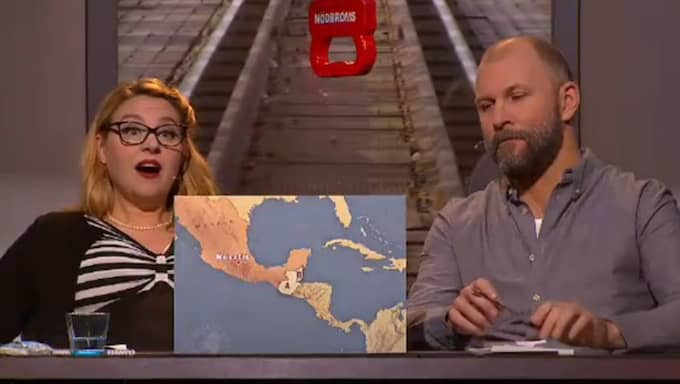 Radiomannen Kalle Lind och journalisten Isobel Hadley-Kamptz