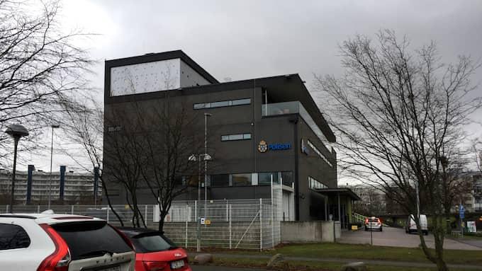 Polisstationen på Rosengård i Malmö.