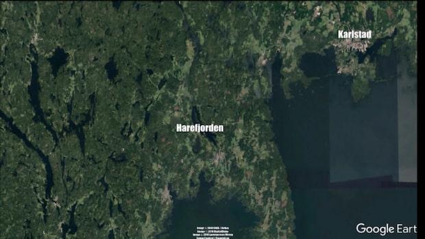 Två båtar har kolliderat på Harefjorden i Säffle kommun