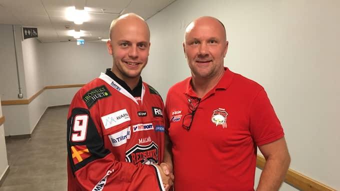 Oscar Alsenfelt och Peter Andersson. Foto: Johan Svensson.