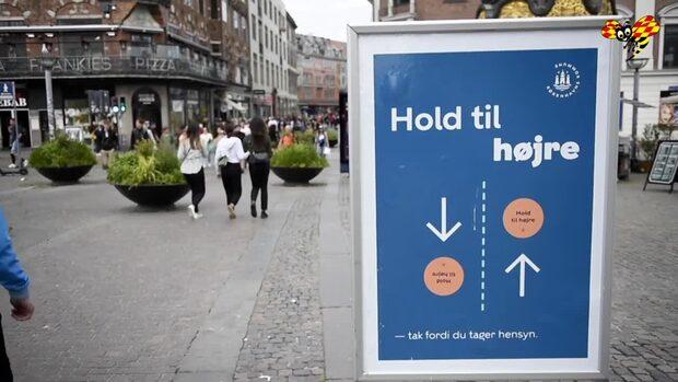 Nya restriktioner i Danmark – munskydd på krogen