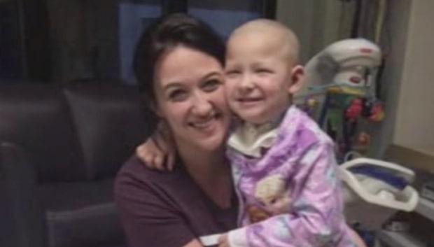 Personalen uppfyller cancersjuka Bellas högsta önskan
