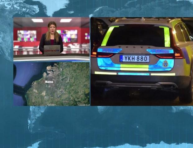 Polisen om explosionerna i Malmö