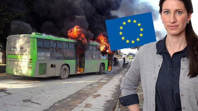 """""""EU måste ta ansvar """", dundrar svenska politiker. Men det hänger förstås på att EU fortsätter att existera, skriver Susanna Birgersson."""