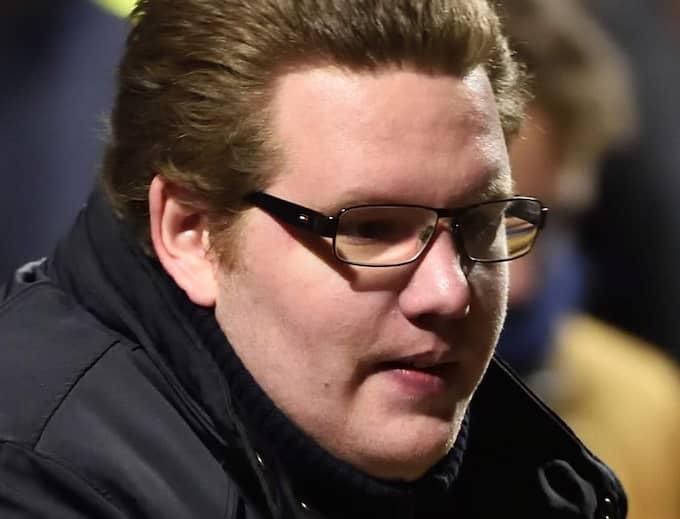 Christian Vagman är aktiv i Pegida, och deltog tidigare i år i demonstrationerna i Malmö. Foto: Christian Örnberg