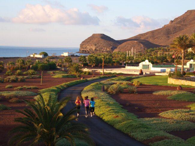 Träningsanläggningen Playitas ligger på kanarieön Fuerteventura.
