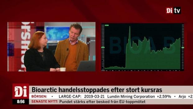 Bioarctic handelsstoppades efter stort kursras - nu är det hävt