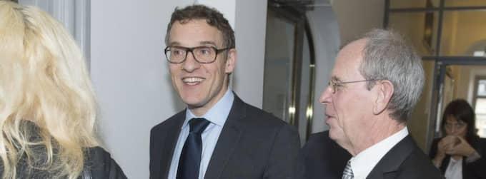 I RÄTTEN. Expressens tidigare chefredaktör Otto Sjöberg och Aftonbladets tidigare chefredaktör Anders Gerdin i HD. Foto: Roger Vikström