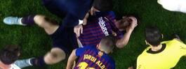 Otäcka bilderna på Messi efter smällen