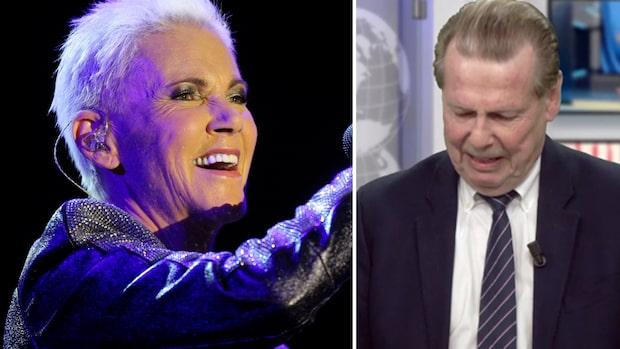 Anders Björkmans starka reaktion efter beskedet om Marie Fredriksson