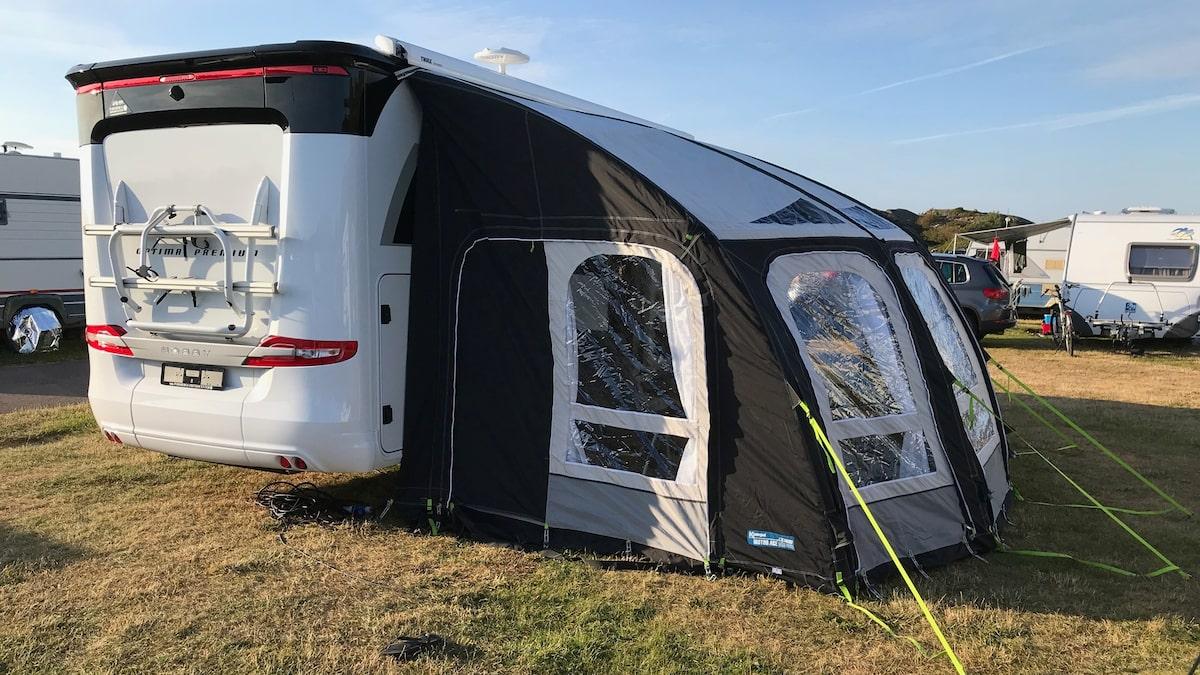Uppblåsbara tält till husbil