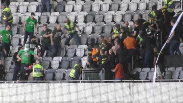 15 personer åtalas för våldsamt upplopp vid derbyt Hammarby-AIK