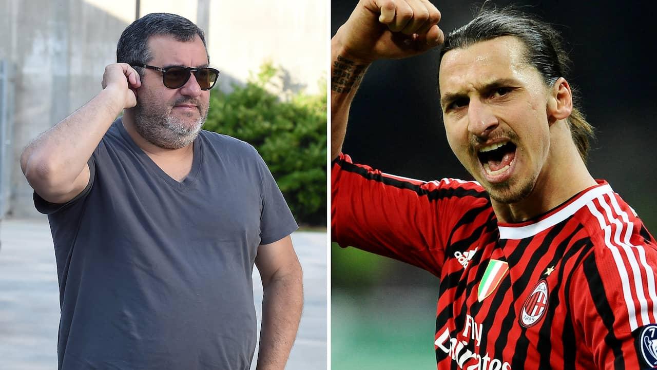 Uppgifter: Mino Raiola och Milan i möte om Zlatan