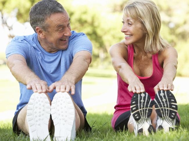 Att motionera regelbundet har god effekt även för dem som inte varit särskilt fysiskt aktiva på många år.