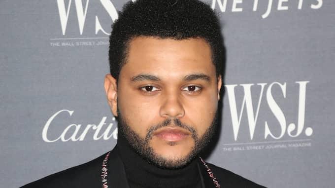 Kanadensiske artisten The Weeknd, eller Abel Tesfaye, protesterar mot H&M:s produktbild och väljer att stoppa sitt samarbete med modejätten. Foto: SPLASH NEWS / SPLASH NEWS/IBL SPLASH NEWS