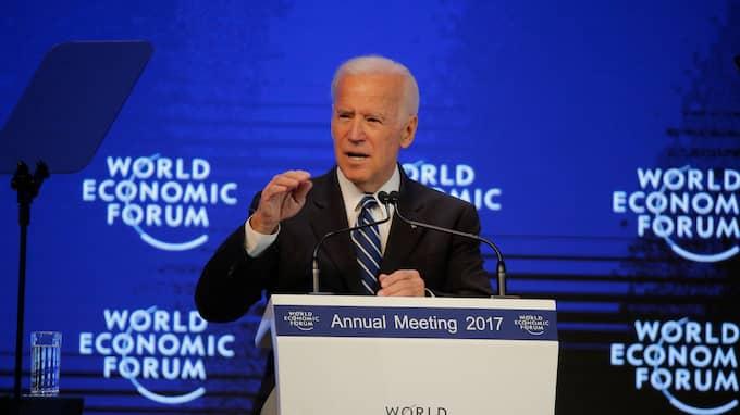 Joe Biden menar att Trump inte betedde sig som en president när han fällde uttalandet om Haiti, El Salvador och afrikanska länder. Foto: MICHEL EULER / AP TT NYHETSBYRÅN