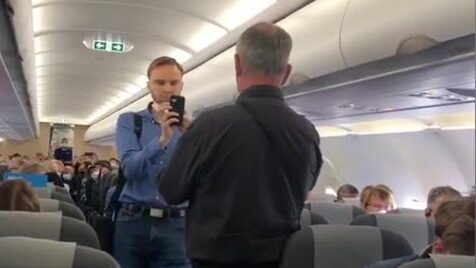 """Aktivisterna stoppade flygplan: """"Ett hot mot alla passagerare"""""""