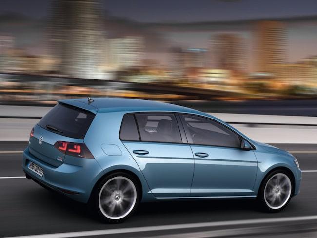 Golf är på andra plats – men VW är marknadsledande tack vare Polo som ligger trea på listan.