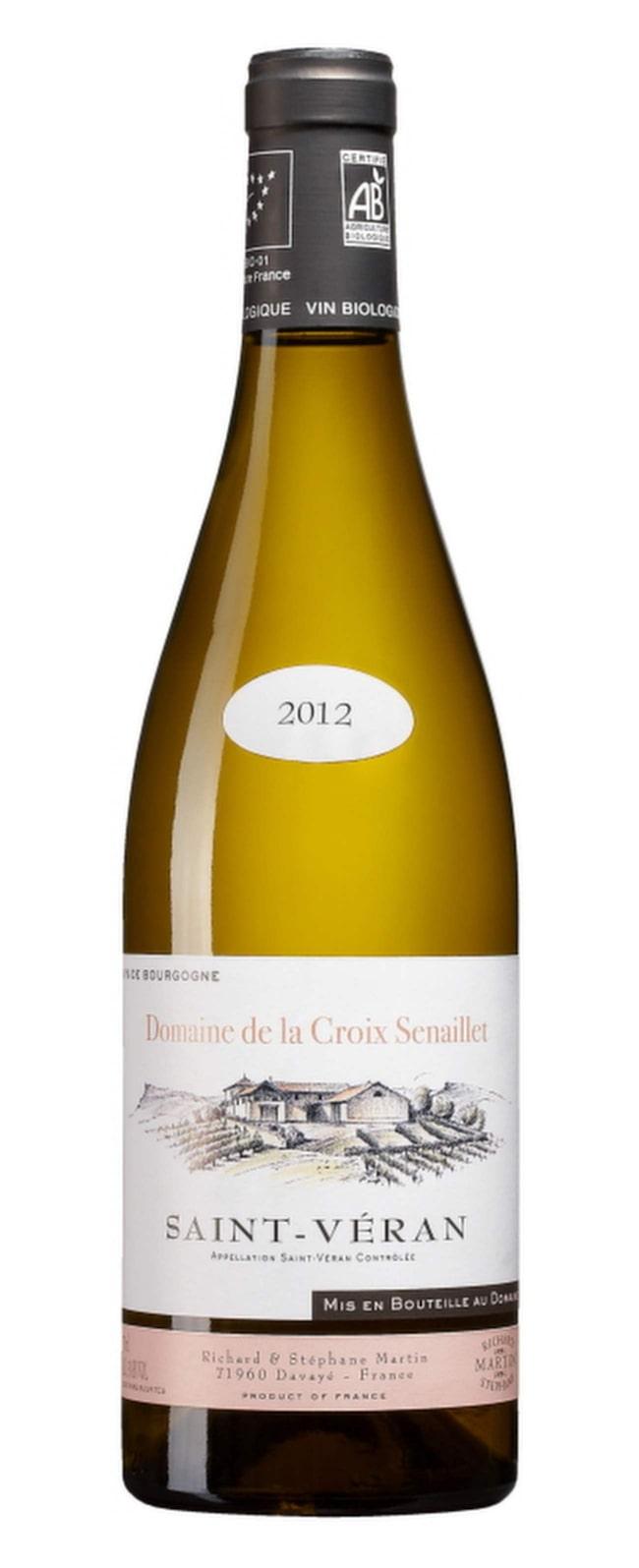 """Vitt<br><span class=""""wasp-icon""""></span><span class=""""wasp-icon""""></span><span class=""""wasp-icon""""></span><span class=""""wasp-icon""""></span><br><strong>Saint-Véran Domaine de la Croix Senaillet 2012 (5222) Frankrike, 121 kr</strong><br>Smakrikt med nyanserade toner av äpplen, vanilj och nötter. Frisk fruktsyra balanserar. Gott till stekt kyckling."""