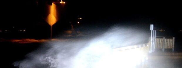 Sammanfattning: Stormen Knud slog mot Västsverige på fredagen