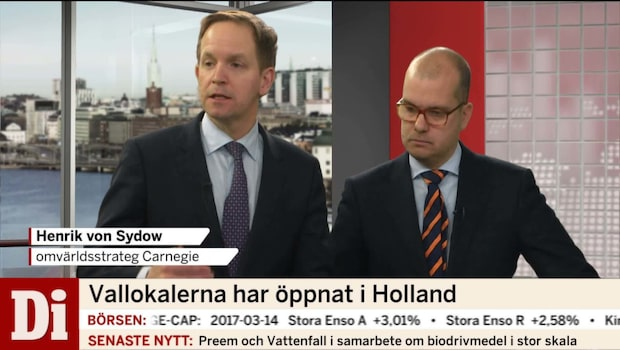 """Experterna om holländska valet """"Finns ingen """"Exit-tendens"""""""""""