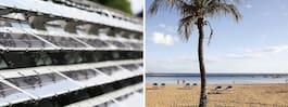 Teneriffa bygger enorm solcellsanläggning