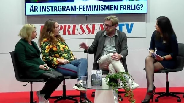 "Fredrik Virtanen om metoo: ""Som kyrktanter"""