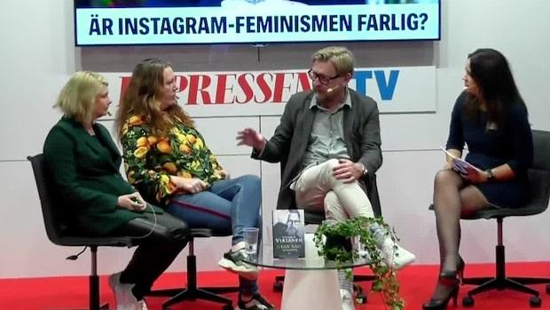 """Fredrik Virtanen om metoo: """"Som kyrktanter"""""""