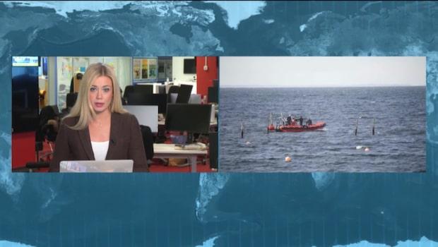 Danska polisen har hittat en arm i vattnet utanför Köpenhamn