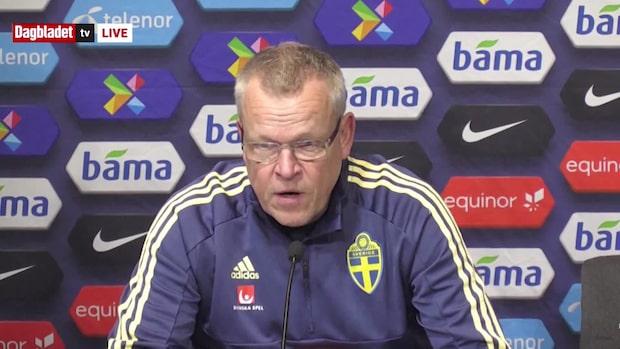"""Janne Andersson: """"Nöjd - och missnöjd"""""""