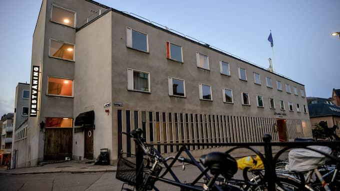 Här bodde Farid Ikken, när han var bosatt i Uppsala. Foto: ALEX LJUNGDAHL / ALEX LJUNGDAHL EXPRESSEN