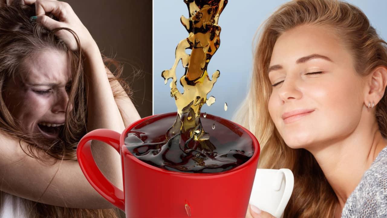 sluta dricka kaffe biverkningar