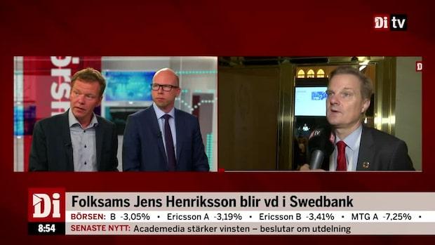 """Di:s analytiker: """"Persson vill ha in någon som han litar på"""""""