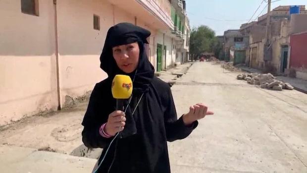 """Magda Gad i Afghanistan: """"Situationen är dålig"""""""