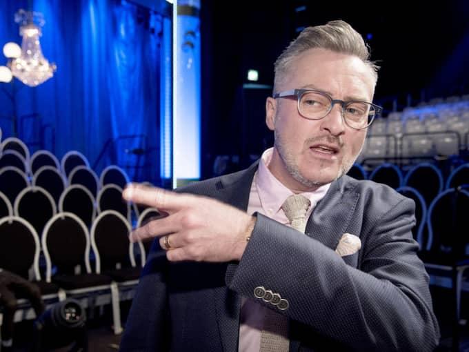 Tony Irving är domare i Let's dance. Foto: Olle Sporrong